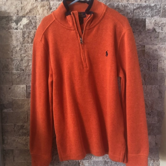 Polo by Ralph Lauren Other - Polo by Ralph Lauren Quarter-Zip Pullover Sweater
